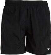 Speedo Mens Solid Leisure 16 Inch Water Shorts Black