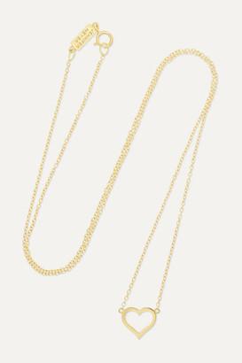 Jennifer Meyer Small Open Heart 18-karat Gold Necklace - one size