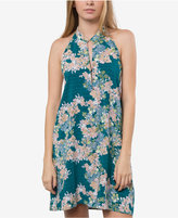 O'Neill Juniors' Wander Printed Halter Dress