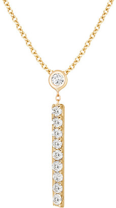 Ariana Rabbani 14K 0.10 Ct. Tw. Diamond Lariat Bar Necklace