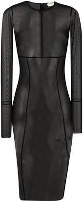 Alyx Sheer Layered Dress