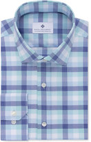 Ryan Seacrest Distinction Ryan Seacrest DistinctionTM Men's Slim-Fit Non-Iron Light Spearmint Check Dress Shirt, Only at Macy's