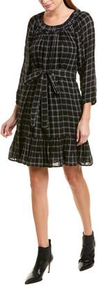 La Vie Rebecca Taylor Plaid Shift Dress