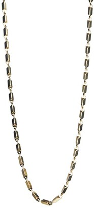Rebecca Minkoff Bar Chain Necklace (Gold) Necklace