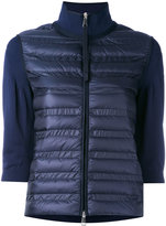 Moncler padded front sweater - women - Feather Down/Polyamide - S