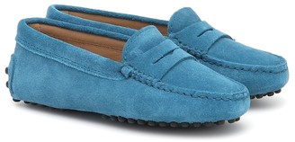 Tod's Gommini suede mocassins