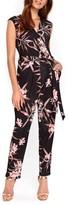 Wallis Women's Fern Floral Jersey Jumpsuit