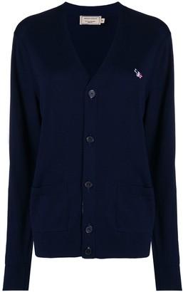 MAISON KITSUNÉ Button Up Knit Cardigan