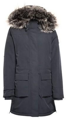 Dorothy Perkins Womens Only Black Faux Fur Hood Coat, Black