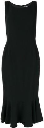 Dolce & Gabbana fishtail sleeveless dress