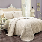 Vue VueTM Charlotte Faux-Fur 3-pc. Coverlet Set