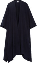 Madeleine Thompson Ribbed Cashmere Wrap - Navy
