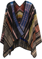 Missoni Checked Wool-Blend Wrap
