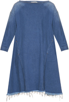Rachel Comey Ballston frayed-hem denim dress