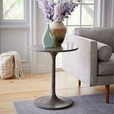 Concrete Pedestal Side Table