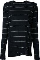 Bassike striped top - women - Cotton - XS