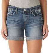Rock & Republic Women's Bumpershoot Cuffed Jean Shorts