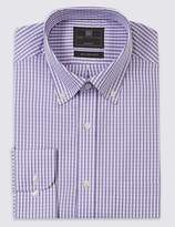 Marks and Spencer Pure Cotton Easy to Iron Oxford Shirt