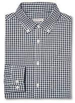 Merona Merona; Men's Plaid Button Down Long Sleeve Shirt Navy L - Merona;