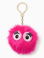 Kate Spade Monster pouf keychain