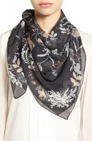 Vince Camuto 'Canyon Kaleidoscope' Square Silk Scarf