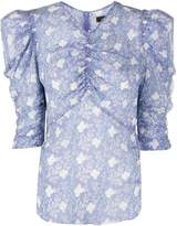 Isabel Marant ruched detail blouse