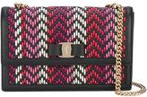 Salvatore Ferragamo woven Vara shoulder bag - women - Leather - One Size