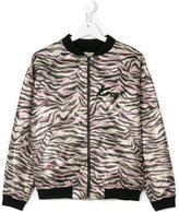 Kenzo bomber jacket - kids - Viscose - 14 yrs