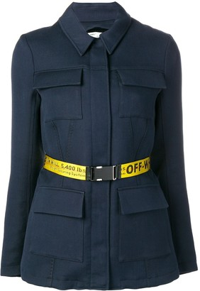 Off-White Overshirt Belted Jacket