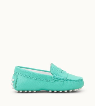 Tod's Junior Gommino Driving Shoes in Leather