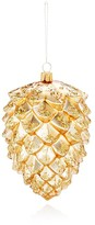 Mia Pine Cone Glass Ornament