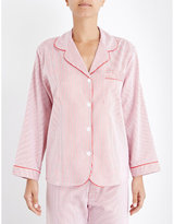 Bodas Verbier striped cotton pyjama shirt