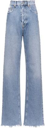 Miu Miu Club distressed jeans