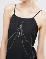 NY:LON Body Harness With Stone Detail
