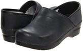 Sanita Professional PU (Black) Women's Clog Shoes