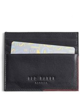 Ted Baker Men's 'Cooke' Leather Card Case - Black