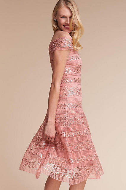 Anthropologie Lora Wedding Guest Dress
