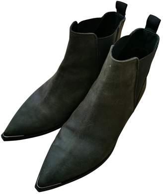 Acne Studios Jensen / Jenny Khaki Leather Ankle boots