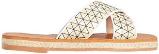 Schutz Mazilia Platform Flat Sandals