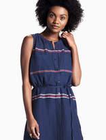 Lucky Brand Stripe Shirt Dress