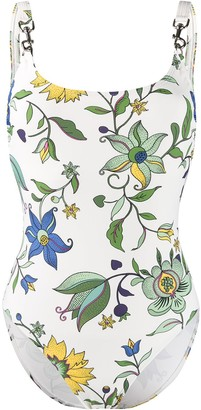 Tory Burch floral print swimsuit
