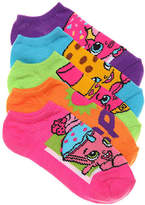 Girls Shopkins Toddler & Youth No Show Socks