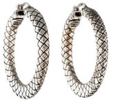 Bottega Veneta Sterling Hoops