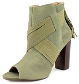 Klub Nico Betheny Women Peep-toe Leather Green Bootie.