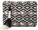 Mossimo Women's Tassel Soft Pouch Black