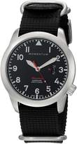 Momentum Men's 1M-SP18BS7B Analog Display Swiss Quartz Watch