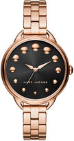 Marc Jacobs Women's Betty Rose Gold-Tone Stainless Steel Bracelet Watch 36mm MJ3495