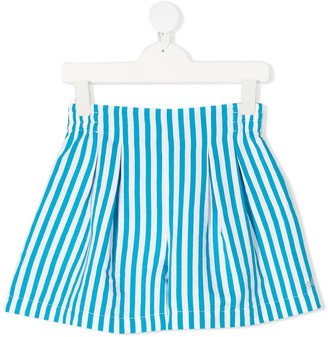 MonnaLisa Striped Fitted Shorts