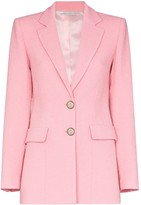 Alessandra Rich notched lapel blazer