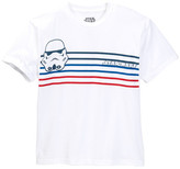 Mighty Fine Striped Troopers Tee (Big Boys)